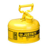 Justrite Safety Can, 1 gal, Type 1, Choose Color