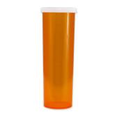Economy Rx Amber Vials, Easy Snap-Caps, Amber, 60 dram (175cc) case/140