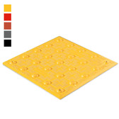 ADA Tile, 1 x 1 Detectable Warning Mat, Retrofit Model, Each
