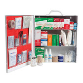 Medium 3-Shelf Industrial First Aid Cabinet with Liner