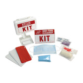 Body Fluid Cleanup Kit with Plastic Box, Case/24