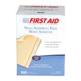 "Sterile Non-Adherent 3"" x 4"" Pad, case/12"