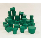 Neoprene Stoppers, 1 Lb box, Choose Size
