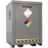 HazMat Drum Storage Locker with Optional Fire Rating, 4 Drum
