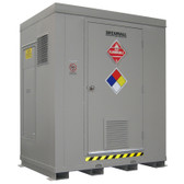 HazMat Drum Storage Locker with Optional Fire Rating, 6 Drum