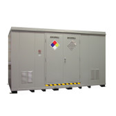 HazMat Drum Storage Building with Optional Fire Rating, 24 Drum
