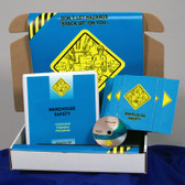 MARCOM Warehouse Safety Training Meeting Kit DVD, Choose Language