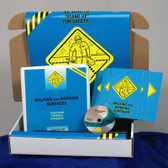 MARCOM Walking, Working Surfaces in Construction Safety Training Meeting Kit DVD
