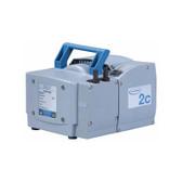 Oil-Free Diaphragm Vacuum Pump ME 2C NT, 100-120V/50-60Hz, NRTL