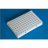 96-Well PCR Plate, Low-Profile, white, pack/50
