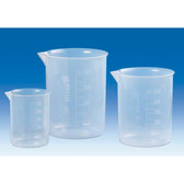 Griffin Beaker, PMP, Molded Graduations, Choose Size, Pack/6