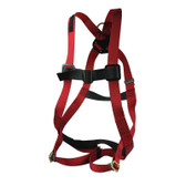 Fall Safety Harness, Adjustable Chest Strap, Chest Buckle, Leg Straps