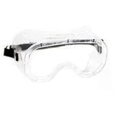 Radnor Direct Vent Dust Goggles, Clear Soft Frame, Anti-Fog, case/12