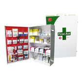 4 Shelf First Aid Cabinet Class B