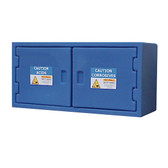 Securall Poly Acid Safety Cabinet, Small, Nestable, Non-Metallic