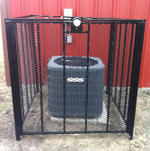 AC Cage, T-Rex 4' x 4' Bolt Down Air Conditioner Protection