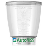 Autofil SS, Funnel Only, 1000mL, 0.2um High Flow PES Bottle Top Filter, case/12