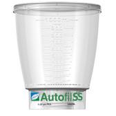Autofil SS, Funnel Only, 1000mL, 0.2um High Flow PES Bottle Top Filter, case/12