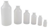 Lockable (Tamper Evident) Security Bottles, Graduated LDPE, 125mL, pack/10