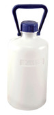 Carboy, Narrow Mouth, Heavy Walled HDPE, w/ O-ring, 5L, Each
