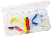 Stir Bar Kit, Octagonal Color-Coded Stir Bars, PTFE (Set of 24)