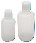 Bottles, Narrow Mouth with Buttress, Polyethylene, 16oz, case/48