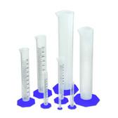 Nalgene 3662-1234 Graduated Cylinder Variety Pack, PPCO (Set of 7)