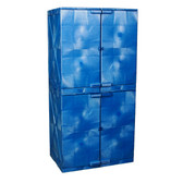 Polyethylene Safety Cabinet, Modular, 48 Gallon