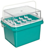 Nalgene 5116-1300 Lab-Top Cooler Jr. 0 degree C, 13mm, PC, 12-Place, Each