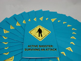 MARCOM Active Shooter: Surviving an Attack Employee Booklet