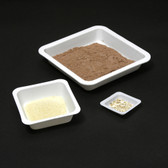 Weigh Boats, Disposable Balance Dishes, 100mL, Square, Case/5000