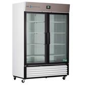Premier Laboratory Double Swing Glass Door Refrigerator 35 Cu. Ft.