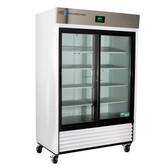 Premier Laboratory Double Slide Glass Door Refrigerator 47 Cu. Ft.