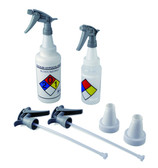 Polypropylene Trigger Sprayers w/ 53mm Adapters, Case/20