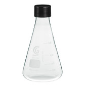 CG-1543-07 3000mL Erlenmeyer Flask, 38-430 GPI Screw Thread, Each