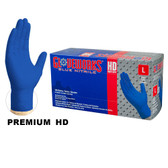 Blue Nitrile Gloves, FDA Compliant, Textured, Powder Free, case/1000