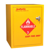 SciMatCo SC8023 Bench Flammables Cabinet with Self-Closing Door