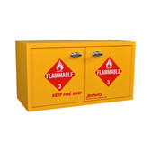 SciMatCo SC9039 Mini Stak-a-Cab Flammables Cabinet with Self-Closing Doors