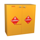 SciMatCo SC7133 54-Gallon Flammables Cabinet with Self-Closing Doors