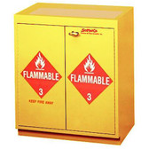SciMatCo SC6070 Floor Flammable Cabinet with Top Tray