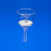 Chemglass CG-8590-150M 150mL Buchner Funnel with Medium Porosity, 4/Case
