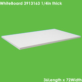 """UniTherm Grade HT200 Thermal Insulating Sheet, 1/4"""" Thick (36x72)"""