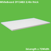 """UniTherm Grade HT200 Thermal Insulating Sheet, 3/4"""" Thick (36x72)"""