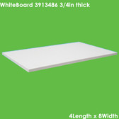 """UniTherm Grade HT200 Thermal Insulating Sheet, 3/4"""" Thick (48x96)"""