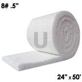 """Ceramic Fiber Blanket, 8lb, 0.5"""", 24"""" x 50'"""