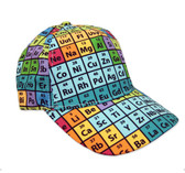Periodic Table of elements baseball hat