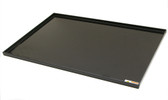 "Air Science AP60-TRAY Spill Tray For Fume Box, Black Polypropylene Tray, 1"" Lip"