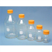 Chemglass Pyrex Media Bottle, 10,000mL, GL45 Cap