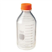 Chemglass Pyrex Media Bottle, 1,000mL, GL45 Cap, case/10