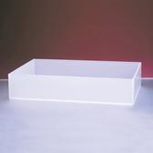 "Dynalon 107324 Polypropylene Tray, 18 x 18 x 4"", 21 Liter"